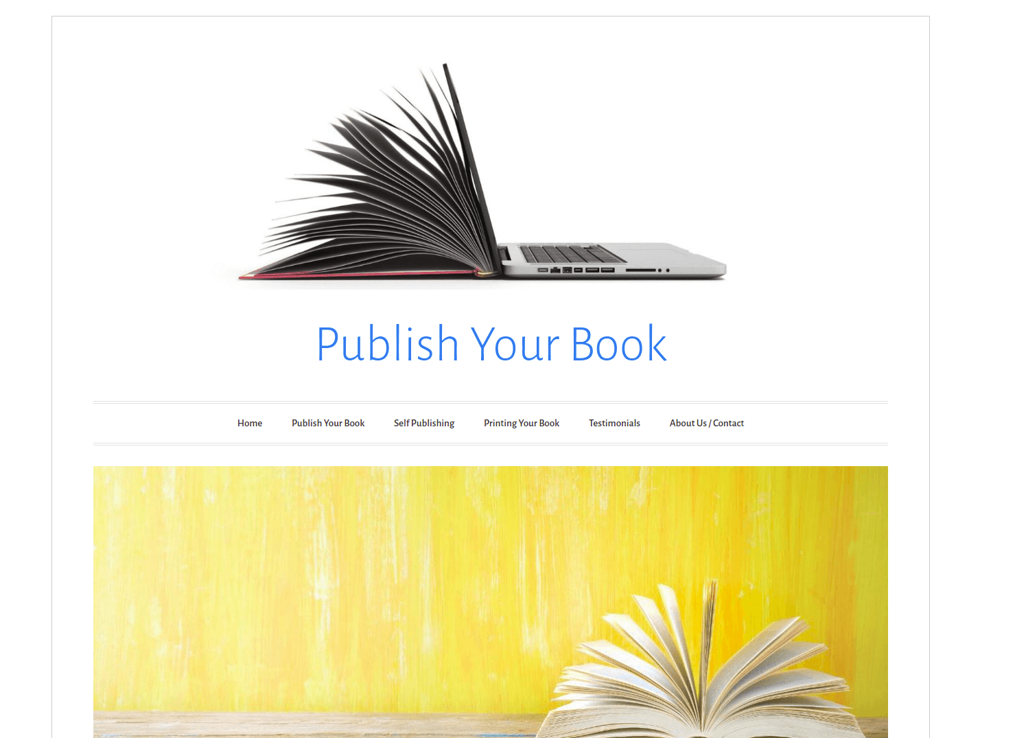 the website of publish your book