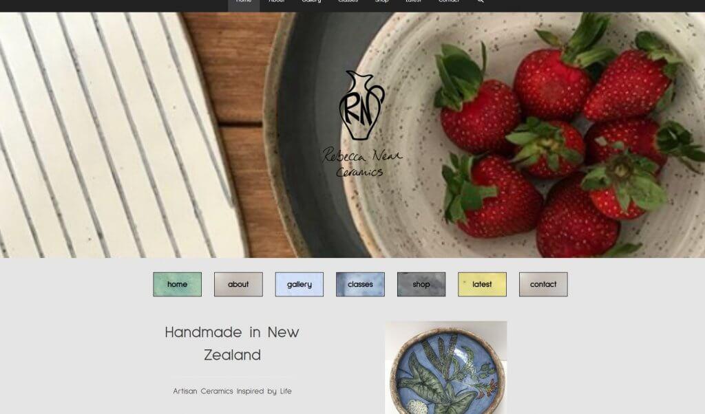 the website of rebecca neal ceramic artist